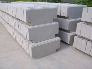 Courtyard Road Pavers Middle Grey Granite Curbstone pictures & photos