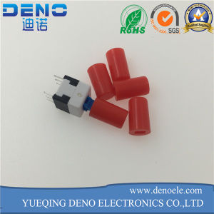 White Cap Self Locking Switch Manufacturer Push Switch pictures & photos