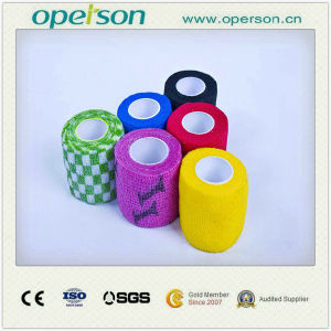 Ce ISO Approved Surgical Sterile Cohesive Bandage with Competitive Price pictures & photos