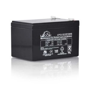 Rechargeable 12V AGM VRLA Battery Lp12-12 pictures & photos