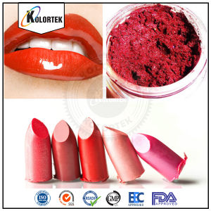 Cosmetic Grade Natural Pearl Mica Colorants in Lipstick pictures & photos