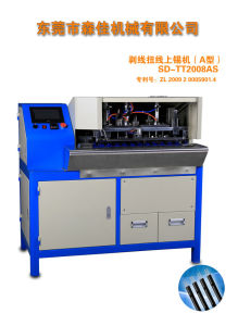 SD-Tt2008as Automatic 2core and 3core Wire Stripping, Separate and Soldering Machine