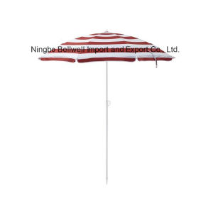 Promotional Sunshade Aluminum Beach Umbrella for Sale pictures & photos