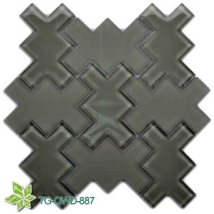 Black Polygon Glass Mosaic (TG-OWD-887) pictures & photos