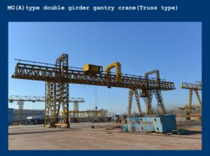 Mg Type Double Girder Gantry Crane Price for Container pictures & photos