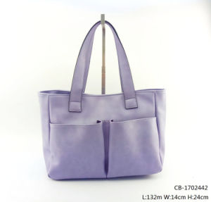 New Fashion Women PU Handbag (CB-1702442) pictures & photos