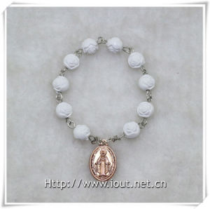 8mm Resin Rose Beads Finger Rosary with Cross, Finger Rosary (IO-ce086) pictures & photos