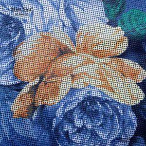 Miss You Ailinna 305353 Women Blue Mesh Floral Short Sleeve Summer Dress pictures & photos