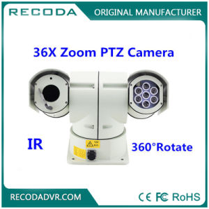 Real Time 3G GPS Mobile DVR Recorder Vehicle Security PTZ Camera System for Police Car pictures & photos
