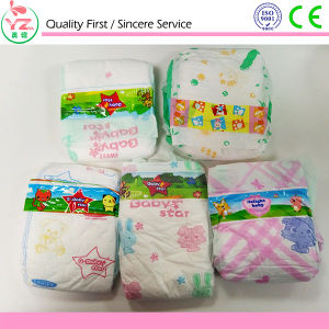 Cloth-Like Back Sheet High Absorption Baby Diaper pictures & photos