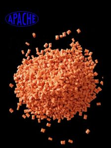 Color Customized Nylon PA66-V0 Flame Retarded Pellets pictures & photos
