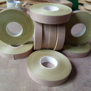 Teflon Coated Heat-Resistant Glass Cloth Tape with Paper pictures & photos