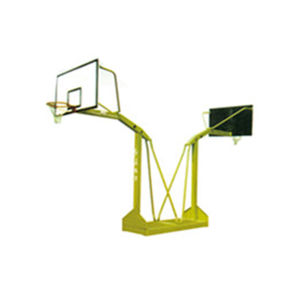 Outdoor Projrction 2.25m Basketball Hoop Stand with Protective Padding pictures & photos