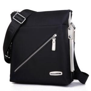 Waterproof Nylon Shoulder Bag Men′s Casual Crossbody Bag