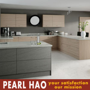 America Customize Kaqi Melamine Wood Kitchen Cabinets pictures & photos