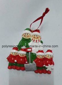 Resin Tree Decoration of Personalized Christmas Ornaments pictures & photos