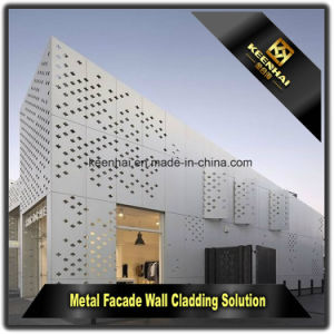 Modern Aluminium Sheet Metal Perforated Facade Panel for Curtain Wall pictures & photos