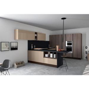 Island Type Modern Kitchen furniture Wooden Kitchen Units pictures & photos