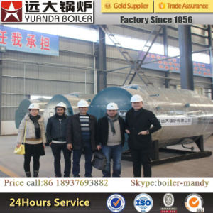 Horizontal Oil Gas Fired Smoke Tube Pressured Hot Water Boiler pictures & photos