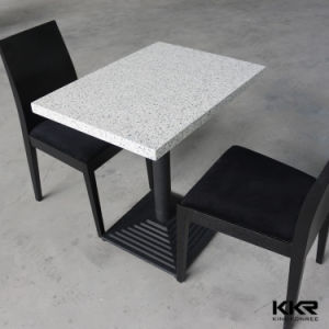 Marble Stone Customized Two Seater Dining Table and Chair pictures & photos