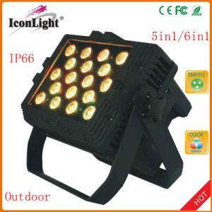out 24X10W RGBWA 5in1 LEDs PAR Light pictures & photos