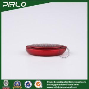 2g Red Flat Plastic Luxury Loose Powder Compact Facial Blush Powder Container Small Press Foundation Container 2g Plastic Powder Jar pictures & photos