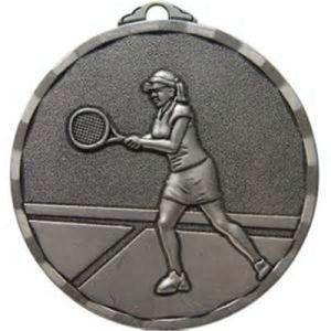 3D Antique Silver Tennis Award Medallion pictures & photos