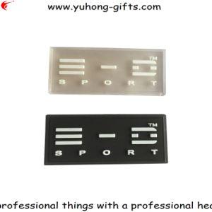 Transparent Garment Rubber PVC Label (YH-RL045) pictures & photos