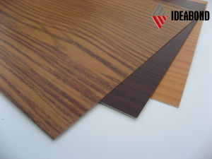 Wood Pattern Prepainted Aluminum Foil (AE-302) pictures & photos