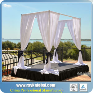 Wedding Backdrop Pipe and Drape Round Wedding Tent pictures & photos