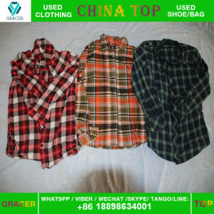Bulk Wholesale Sorted Small Bales Original Winter Men Shirt Used Clothing Dubai Style pictures & photos
