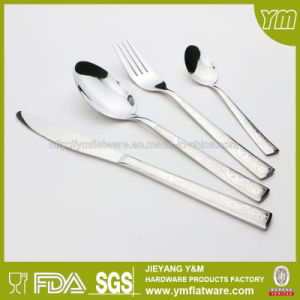 Hot Sell Stainless Steel Cutlery with Laser Patterns pictures & photos