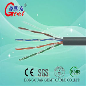 Network Copper Cat5e UTP FTP SFTP LAN Cable Cat5e Copper Cable pictures & photos