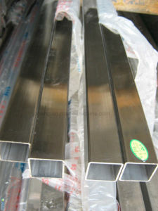 Stainless Steel Square Type Welded Pipe Tube pictures & photos