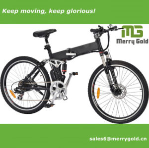 Big Folding Electric Bike with Hidden Battery pictures & photos