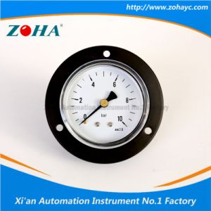 Back Connection General Manometers with Flange pictures & photos