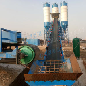 Concrete Machine Fixed Batching Plant Hzs90 pictures & photos