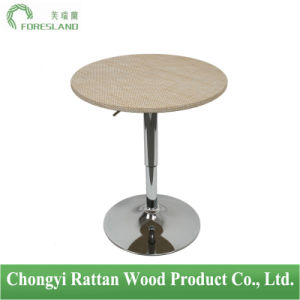 PE Rattan Weaving Bar Table PT-08 pictures & photos