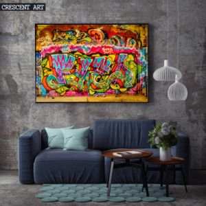 2017 New Graffiti Street Wall Art Abstract Oil Painting pictures & photos