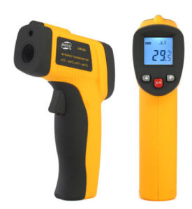 GM300 Non-Contact LCD IR Laser Infrared Digital Temperature Thermometer Gun pictures & photos
