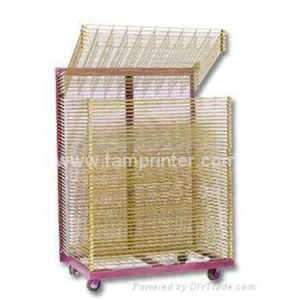 Sublimation Paper Screen Printing Drying Racks Trolley pictures & photos