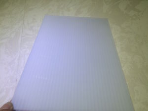 White Polycarbonate Sheet Opal Color pictures & photos