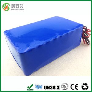 Rechargeable Lithium 36V 10ah LiFePO4 Battery Pack 18650 Batteries pictures & photos