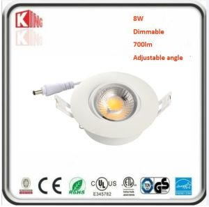8W Dimmable 3 Inch Gimbal LED Downlight
