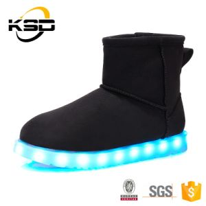Hot Selling Best Quality Cheap Price Winter Warm Boot Shoes Fabric Casual Shoes in China Factory pictures & photos