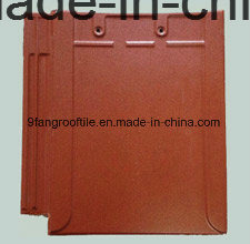 Roof Tile Building Meterail Clay Flat Roofing Tile 280*400mm Factory Supplier Made in China pictures & photos