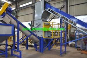 Plastic PP PE Film Bottle Flakes Recycling Washing Machine Line pictures & photos