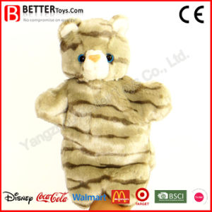 Stuffed Plush Animal Cat Toy Hand Puppet for Kids/Children pictures & photos