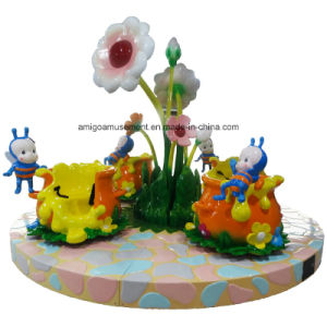 Amusement Roundabout Kiddie Ride 12 Seats Honey Pot Carrousel pictures & photos