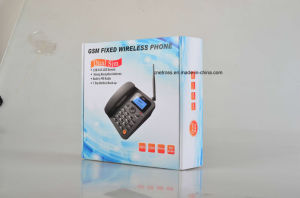 Desktop Phone 2/3G Wireless Phone Single/Dual SIM GSM Fwp Supports FM Radio pictures & photos
